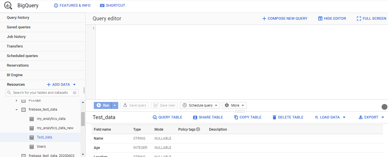 Power BI, Google Sheets and BigQuery